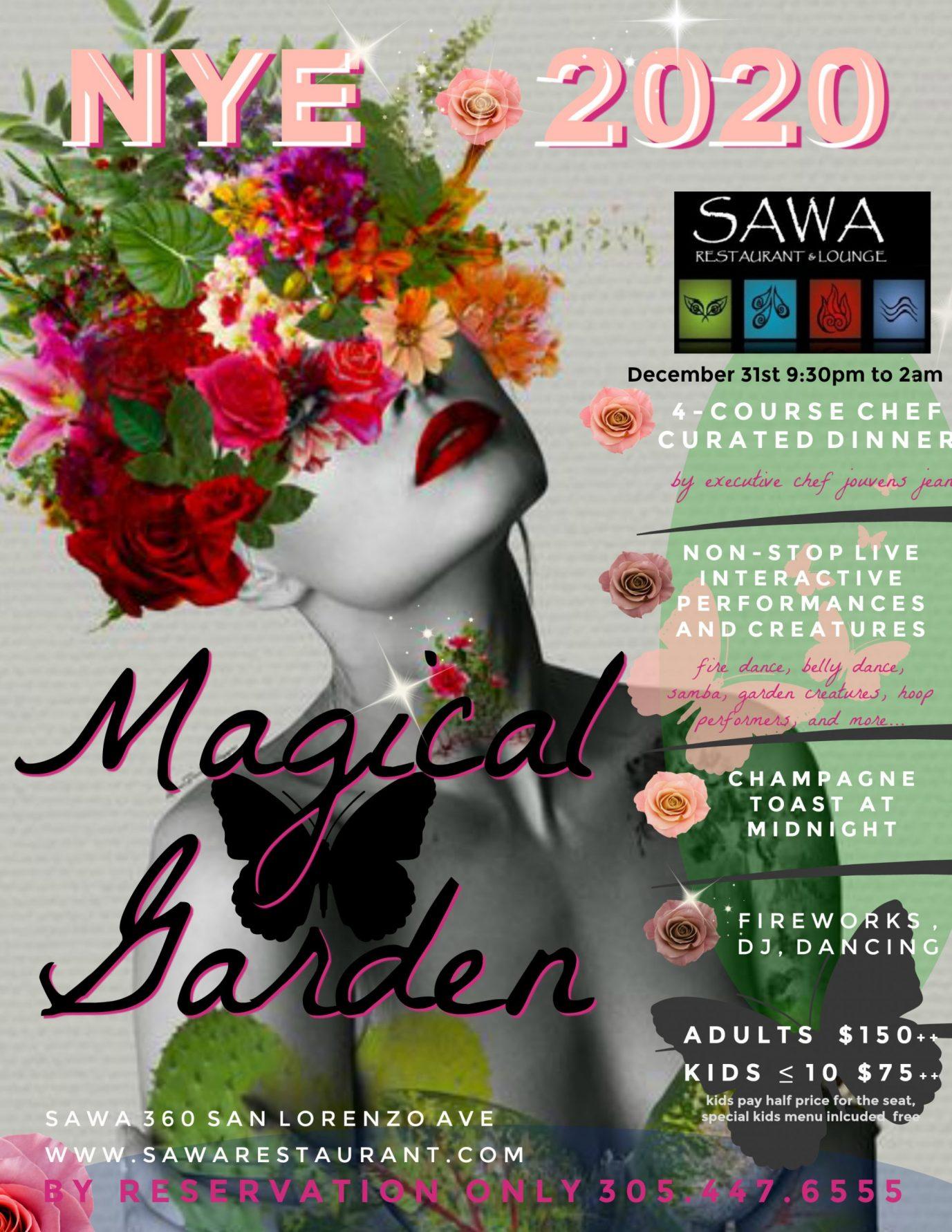 sawa nye 2020 magical garden